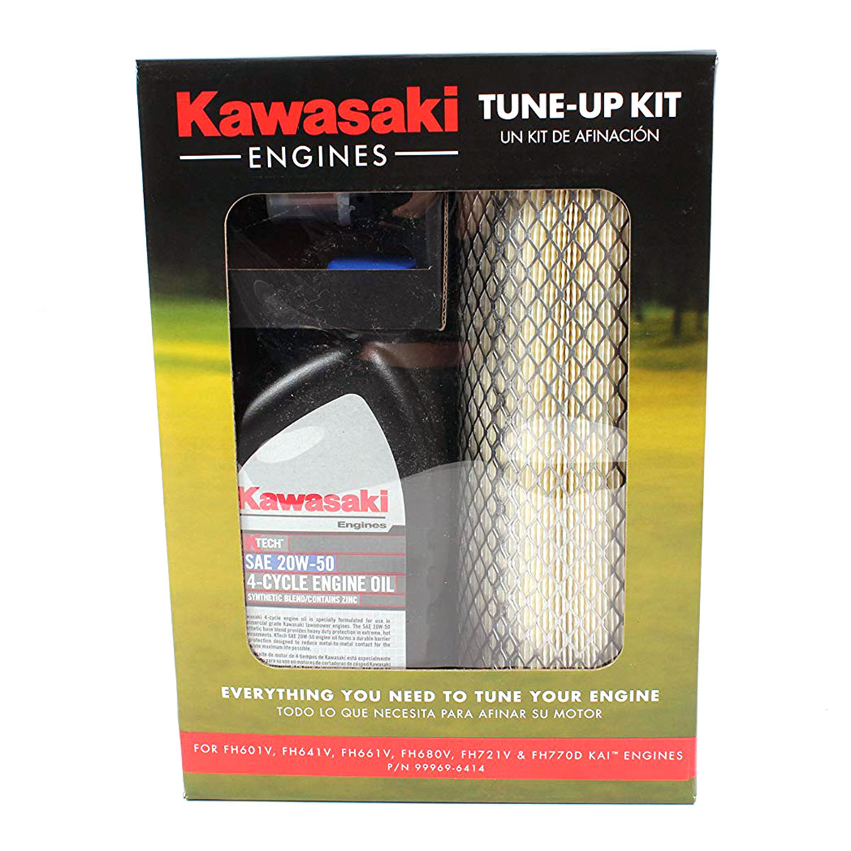 99969-6414 Engine Tune Up Kit FH601V 770D 20W50